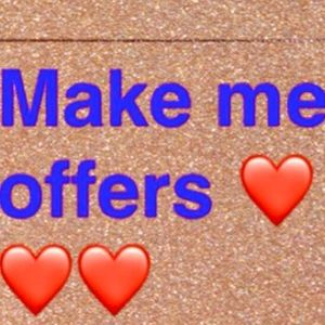 Reasonable offers are welcome!!